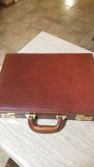 Vintage ostrich skin brief case for Sale in Middletown, OH