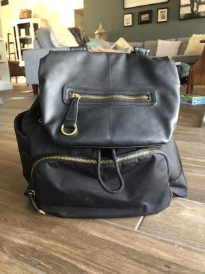 Skip Hop Chelsea Downtown Chic Diaper Bag Backpack - black $50 OBO for Sale in Mesa, AZ