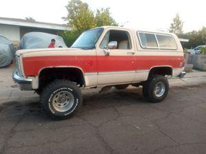 85 K5 Chevy Blazer for Sale in Glendale, AZ