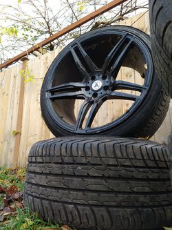 "Asanti black label 20"" rims 5x4.5 for Sale in Seattle,  WA"