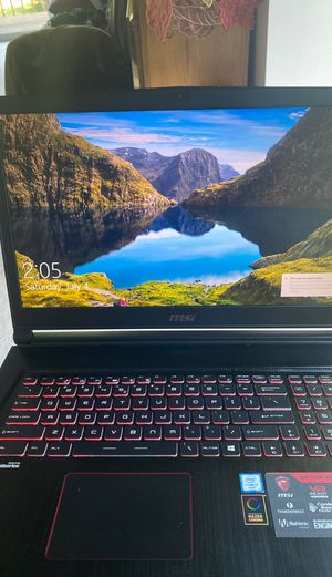 17.3 inch! MSI! Stealth MSI Laptop GS73 VR i7 Intel Chipset $600 Firm for Sale in Lansing, MI