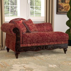 Red and Gold Chaise Lounge/Couch for Sale in Los Angeles, CA