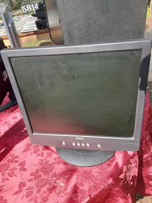 Dell 17inches monitor with VGA cord $25 for Sale in Washington, DC