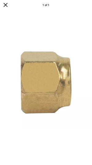 "Brass 5/8"" Flare Forged short Nut 15.875mm (pack of 5) for Sale in Stanton, CA"