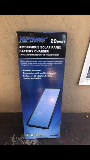 Battery charger solar panel for Sale in Hayward, CA