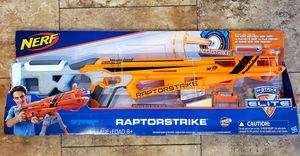 NEW IN BOX RAPTORSTRIKE NERF GUN for Sale in Davie, FL