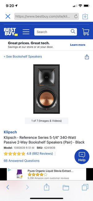 Klipsch Speakers Home Theater for Sale in Leander, TX
