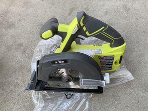 Ryobi 18v circular saw 5 1/2 in new (tool only) for Sale in South Gate, CA