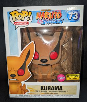 "Funko Pop Anime Naruto Shippuden 6""inch Flocked KURAMA Vinyl Figure Hot Topic Exclusive Collectible Toy Doll for Sale in San Diego, CA"