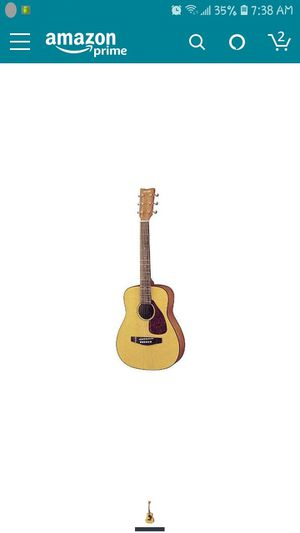 Yamaha FG JR1 3/4 Size Acoustic Guitar with Gig Bag - (Natural) for Sale in Sacramento, CA