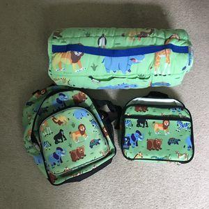 Sleeping Bag, Backpack, Lunchbox for Sale in Toms River, NJ