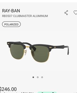 RayBan Clubmaster Polarized Sunglasses for Sale in Los Angeles,  CA