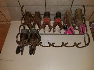Custom horseshoe racks and stands for Sale in Corinth, TX