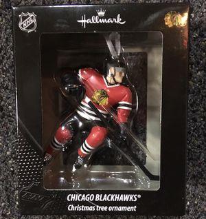 Brand new Hallmark Chicago Blackhawks christmas ornament for Sale in Riverside, IL