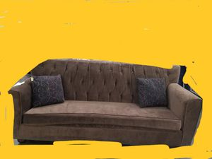 Almost new sofa and 2 black bookcases for Sale in San Diego, CA