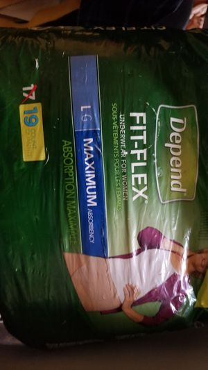 Depend Large Maxium for Sale in Anchorage, AK