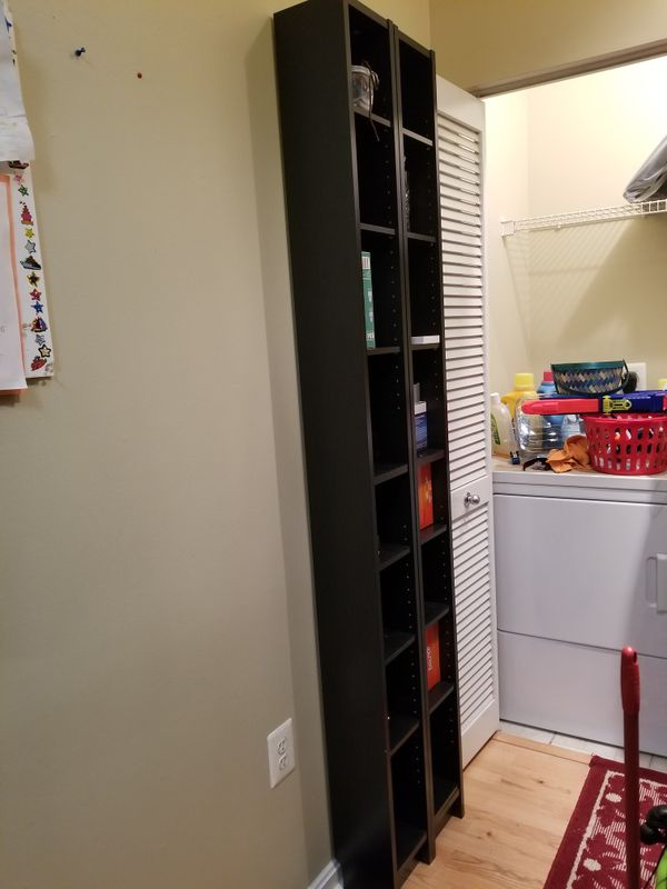 Moving sale (Ikea dvd shortage stand)