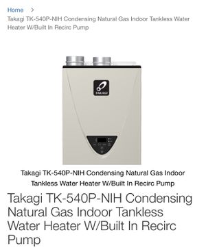 Takagi Tankless water heater for Sale in Milpitas, CA
