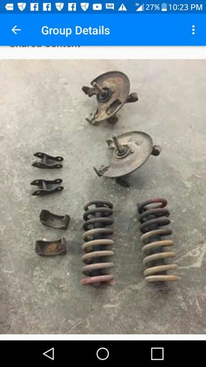 Chevy 88/98 Silverado lowering kit 250 or best offer for Sale in Marengo, OH