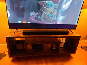 Solid Wood TV Stand for Sale in Spring Valley, CA