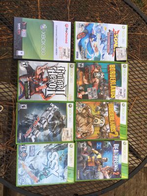 Xbox 360 games (8 games) for Sale in Fuquay-Varina, NC