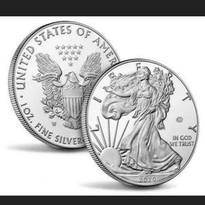 End of World War II 75th Anniversary American Eagle Silver Proof Coin for Sale in Waterbury, CT
