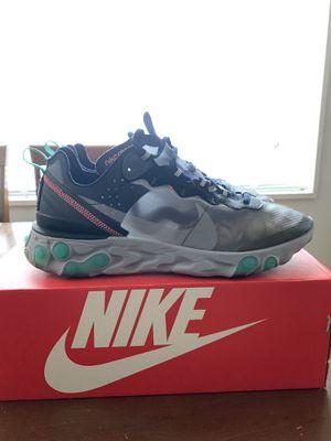 Nike React Element 87 Neptune Green for Sale in Manassas, VA