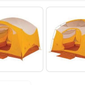Big Agnes Big House 6 Deluxe Tent/Exped Mega Sleep Duo 25-40 Sleeping Bag for Sale in Rancho Cucamonga, CA
