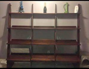 Solid wood 3 tier book shelf... for Sale in Jonesboro, GA