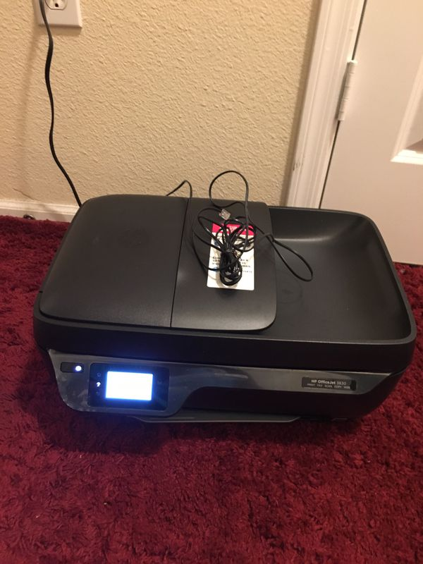 hp officejet 3830 all-in-one inkjet printer manual