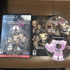 Eternal Poison PlayStation 2 PS2 JRPG for Sale in Orange, CA