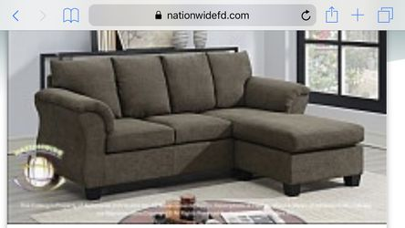 Sofa with chaise for Sale in Florissant,  MO