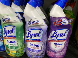 Lysol toilet bowl cleaners for Sale in Miami Gardens, FL