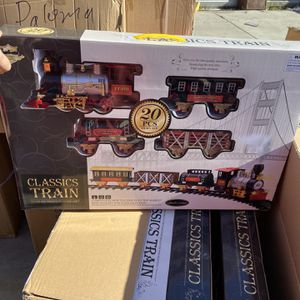 Train With Tracks Jumbo $40 Each for Sale in San Bernardino, CA
