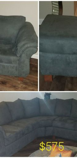 3 Piece Living Room Set : Sectional, Chair, Ottoman for Sale in St. Louis,  MO