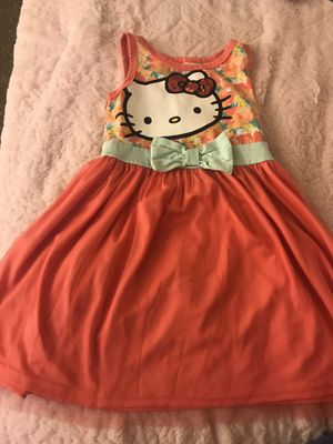 Hello kitty dress size 6 for Sale in undefined