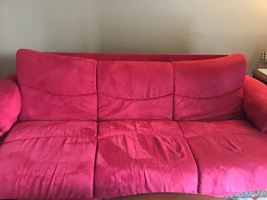 Sofa pull out couch with storage for Sale in Modesto, CA