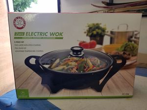 Electric wok for Sale in Santa Fe Springs, CA