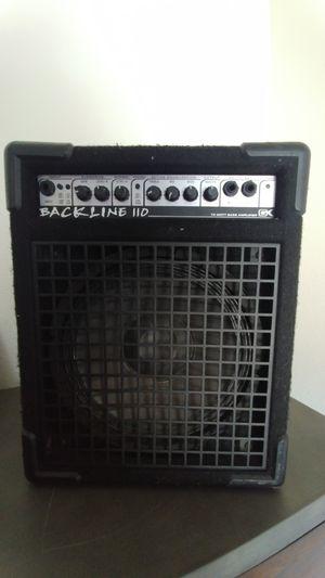 GK bassline 110 bass amp for Sale in Colorado Springs, CO