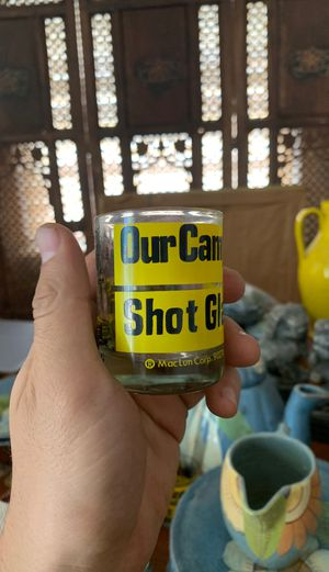 Vintage Mac alum Corp Shot Glass for Sale in Azusa, CA