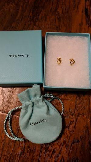 Tiffany Loving Heart Earrings Gold for Sale in Fullerton, CA