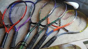 6 Tennis Rackets for Sale in Wildomar, CA