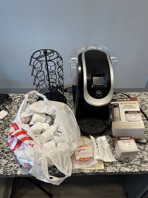 Keurig + pods and stand for Sale in Austin, TX