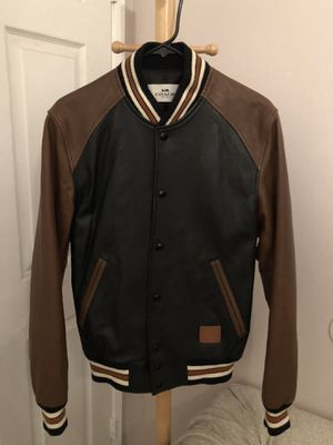 Coach Genuine Leather varsity jacket for Sale in Los Angeles, CA