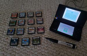 Nintendo DSi + 15 games bundle for Sale in McKnight, PA