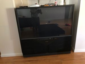 Old fashioned Large TV negotiable for Sale in Terre Haute, IN