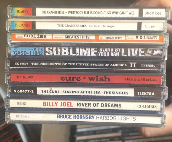 200+ Rock CDs for sale
