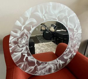Decorative mirror art modern frame for Sale in Bothell, WA