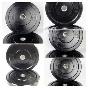 "NEW 250LB Bumper Plates Set Solid Rubber 2"" Olympic Weights for Sale in Bellmawr, NJ"
