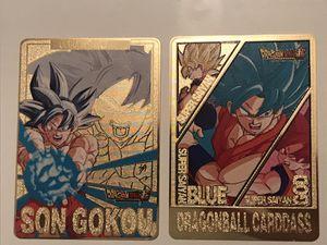 Goku Metal Dragonball card for Sale in West Palm Beach, FL